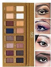 آرایشی و زیبایی سایه چشم سایه AFU + سایه بان 16 رنگ آرایشی برنز طبیعی خنثی و خنثی