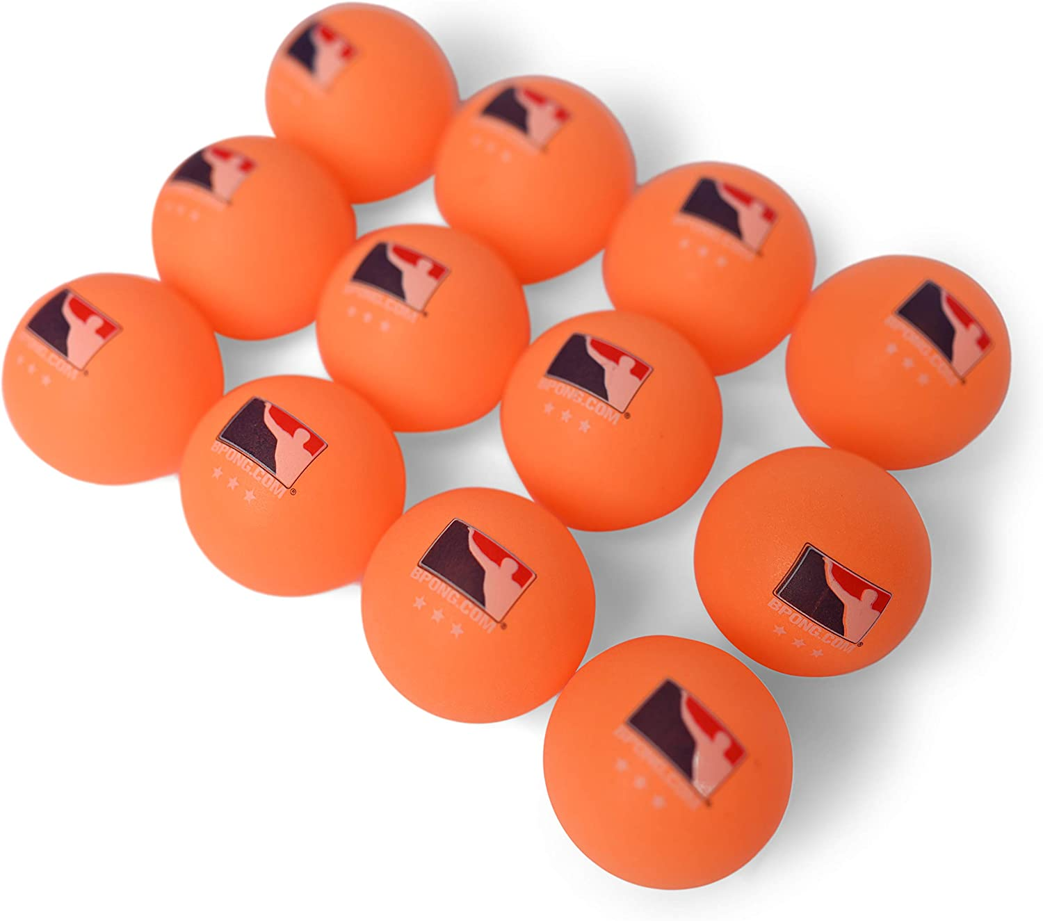 OFFer Orange Beer Pong Balls by Tulsa Mall WSO of BPONG Series World
