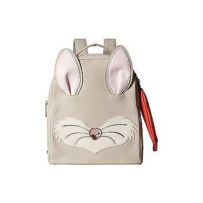 Betsey Johnson Bunny Backpack (Grey Multi) Backpack Bags