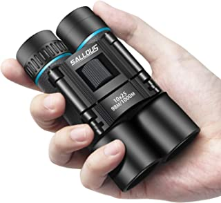 10X25 Small Compact Binoculars for Bird Watching Traveling Hiking Opera Theatre Concerts Shows. Lightweight Folding Durable Binoculars for Adults and Kids. Opera Glasses for Women and Men.