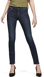 G-STAR RAW 3301 Studs Mid Waist Skinny Jeans Femme