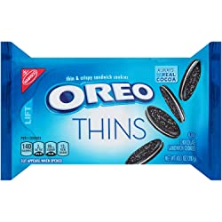 Oreo Thins Chocolate Sandwich Cookies (10.1-Ounce Package)