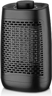 ZWOOS Calefactor Ventilador Portátil - Calentador Eléctrico Bajo Consumo - Oscilación de 60° - Calefacción Eléctrica 1200 ...