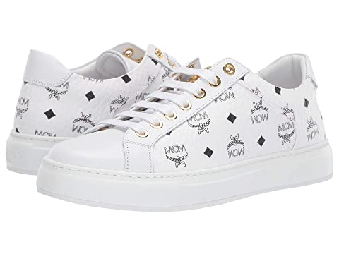 MCM Low Top Lace-Up Sneaker