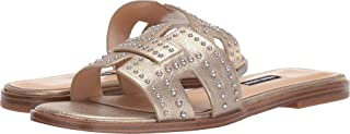 Nine West Women's Genesia Studded Slide Sandal