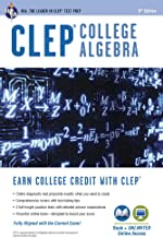 CLEP® College Algebra Book + Online (CLEP Test Preparation)