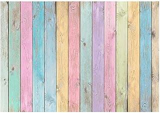 AllEnjoy - Fondo de madera para fotografía de fondo para niñas y niños de Pascua, retrato de Pascua, para baby shower