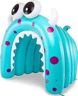 BigMouth Inc Giant Inflatable Tunnel Sprinkler, Kids Run Through Sprinkler (Giant Monster)