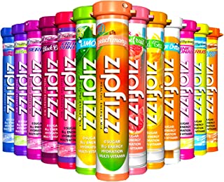 Zipfizz Healthy Energy Drink Mix - 0 Sugar - B12 Hydration Multi-Vitamin - Ultimate 13 Flavor Variety Sampler