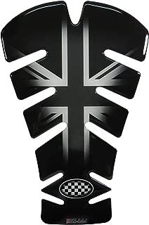 Tankpad 3D 500721/VA Union Jack Silver r/éservoir de protection pour r/éservoir de moto