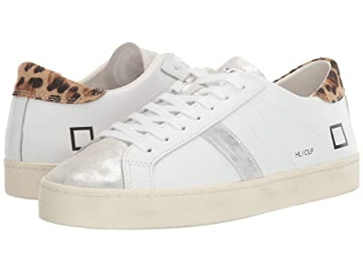 D.A.T.E. Hill Low (White/Leopard) Women