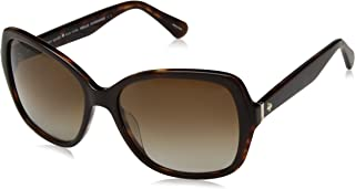 Women's Karalyn/s Polarized Square Sunglasses, brown havana, 56 mm