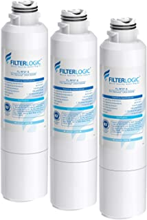 FilterLogic NSF 53&42 Certified DA29-00020B Refrigerator Water Filter, Replacement for Samsung HAF-CIN, HAF-CIN/EXP, DA29-00020A/B, DA97-08006A, DA2900020B, RF28HMEDBSR, RF4287HARS (Pack of 3)