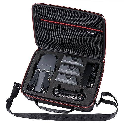 Smatree Housse de Transport DJI Mavic Pro Platinum, Fit 3 Batteries de Drones, Adaptateur de Chargeur de Batterie télécommande(Non Compatible avec Mavic 2)