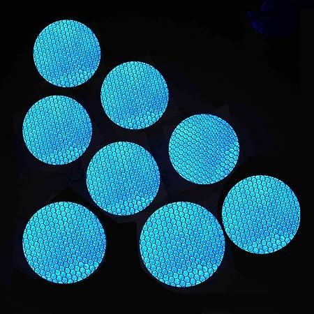 Maiqiken 10pcs Reflektor Streifen Grüne Selbstklebende Für Auto Lkw Anhänger Sicherheit Warnung Reflektorband Tape Aufkleber 60mm Auto