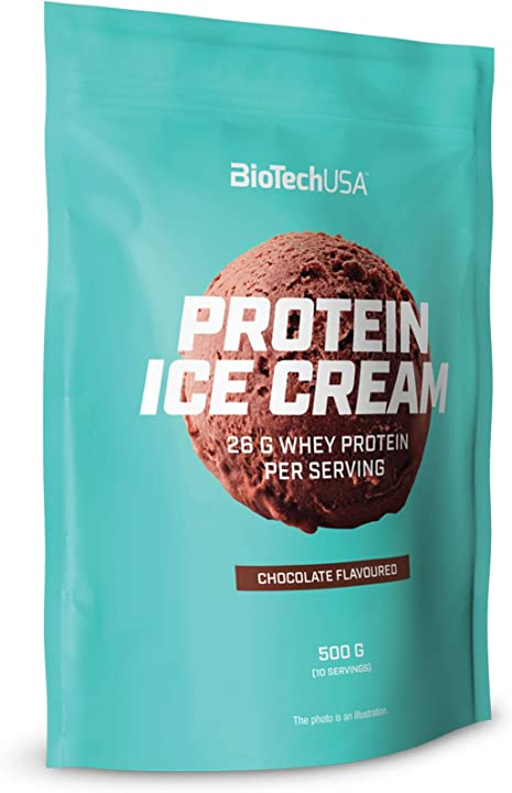 Gelato proteico biotechusa protein ice cream chocolate chocolate 500 g bag B07TMCQTVS