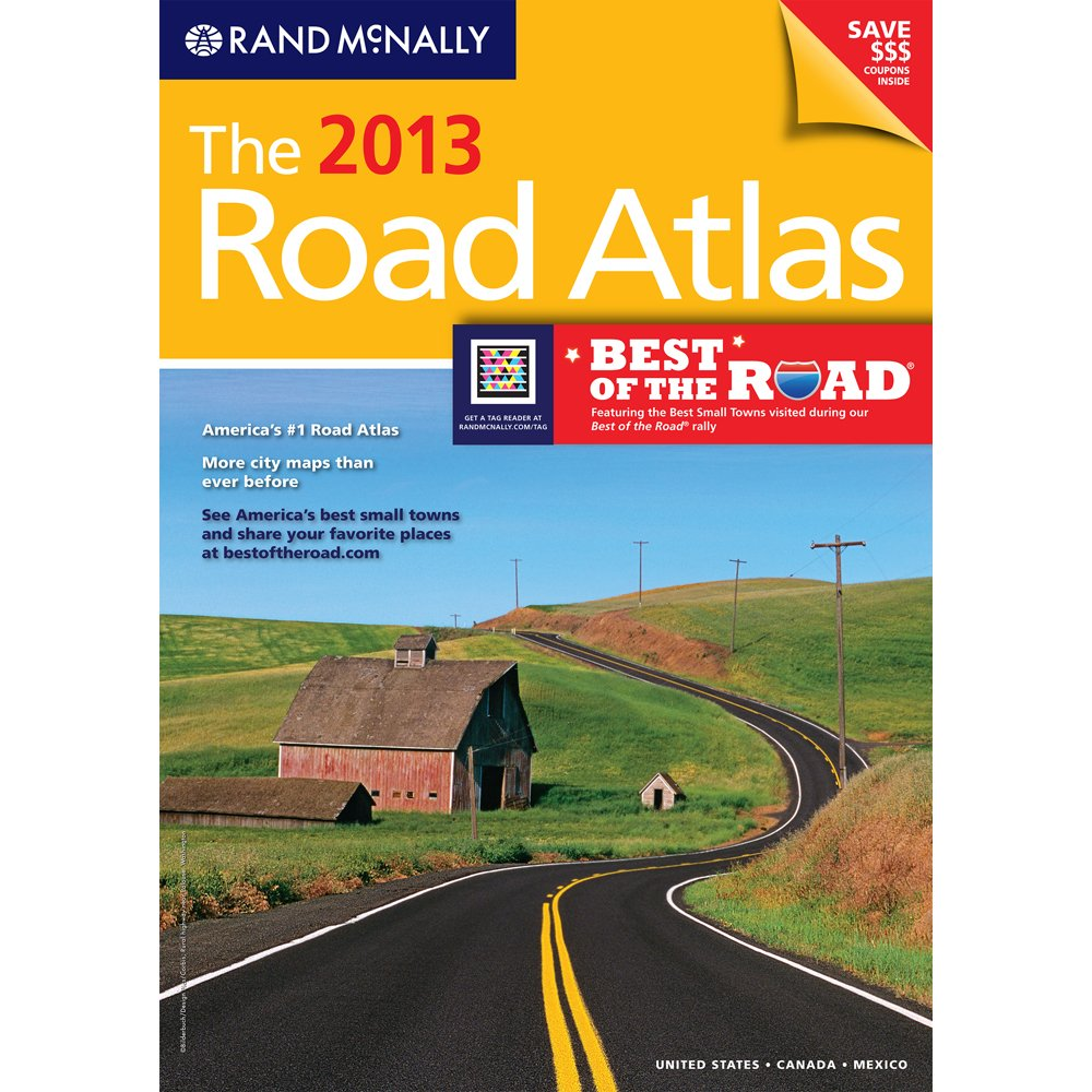 Download The 2013 Road Atlas (Rand McNally Road Atlas: United States/Canada/Mexico) 