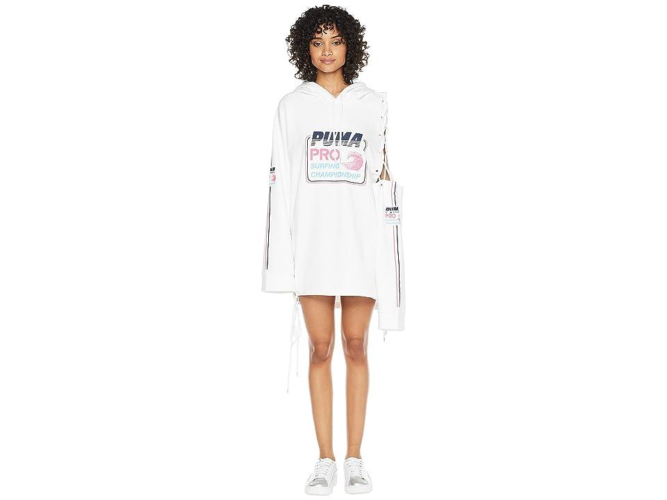 PUMA Puma x Fenty by Rihanna Side Laced Long Sleeve Hoodie (Bright White) Women