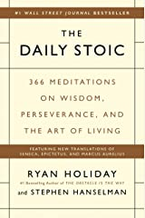 The Daily Stoic: 366 Meditations on Wisdom, Perseverance, and the Art of Living ハードカバー