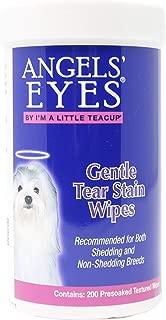 Angel's Eyes Gentle Tear Stain Wipes, Large