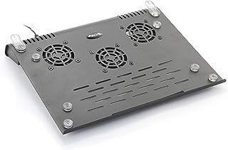 NGS Slim Stand - Soporte de Ordenador portátil con Ventilador, Color Negro