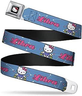 Buckle-Down Seatbelt Belt - Hello Kitty Zodiac Libra - 1.0