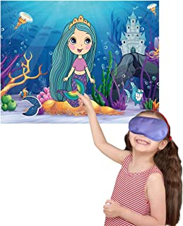 free pin the tail on the mermaid