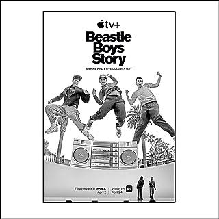Posters Beastie Boys Story 2020 Movie Poster Visuele Kunst Schilderen Poster Canvas Zwart Wit Afbeeldingen Prints Woonkame...