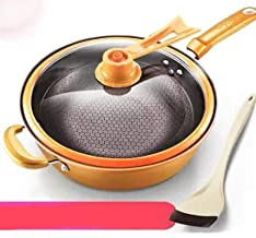 Frying pans Vacuum Pressure Wok Non-stick Pan Pan with Household Multi-function Cooking Wok Induction Cooker Gas Stove Ded...