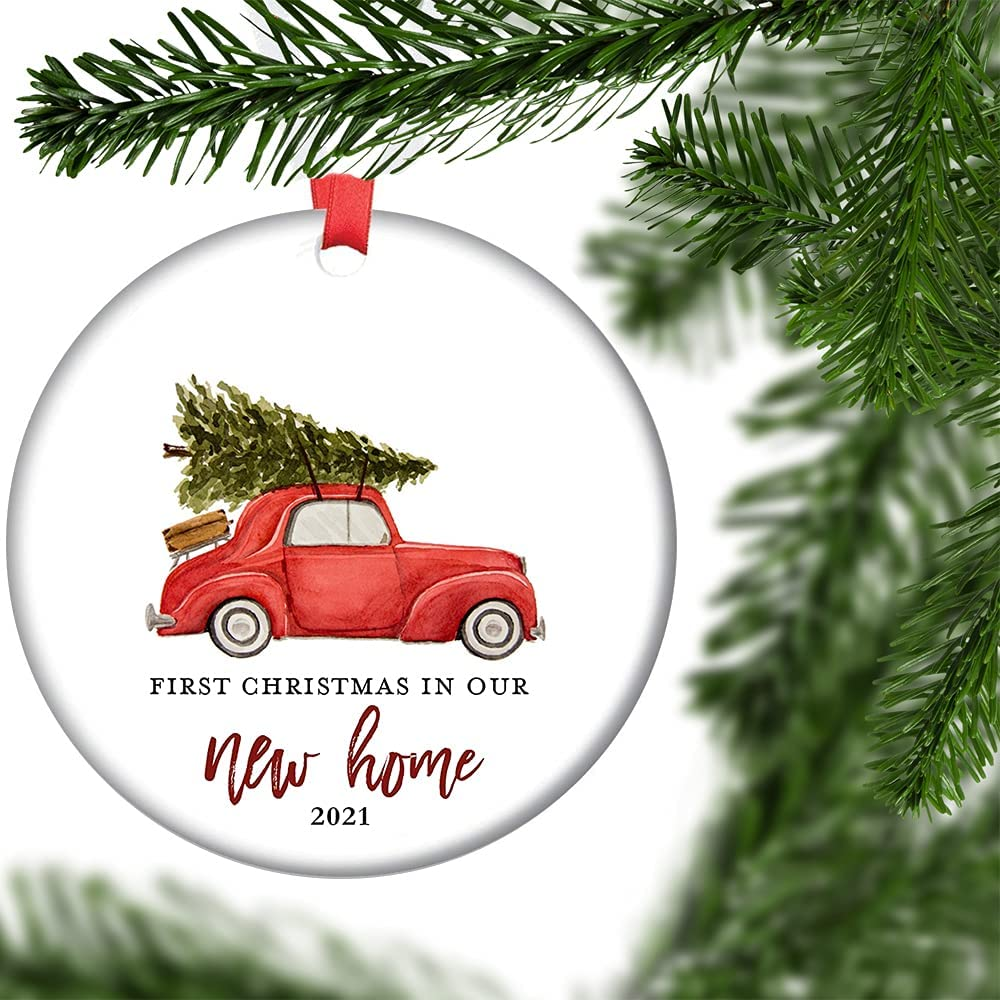 New Recommendation Home Ornament 2021 Our 1st in Christmas Max 50% OFF