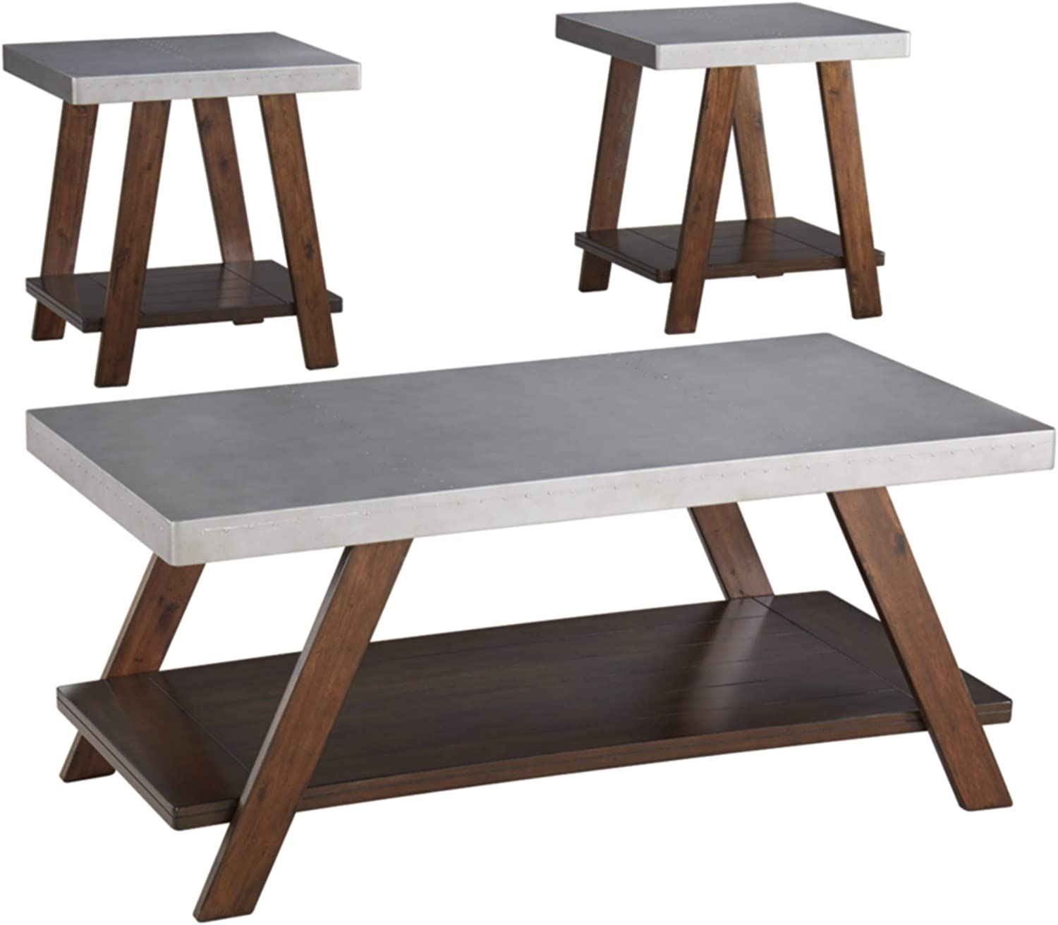 Signature Design Max 69% OFF by Ashley - Table Casual Bellenteen 3-Piece Set Ranking TOP13