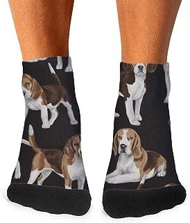 XIdan-die Mens Athletic Crew Socks Beagles Beagle-01 Moisture Wicking Casual Socks