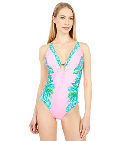 Lilly Pulitzer Stephie One-Piece (Pink Blossom Suite Views Engineered One-Piece) Women