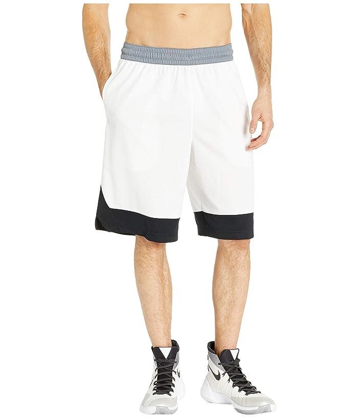 Nike Dry Icon Shorts (White/Black/Black) Men