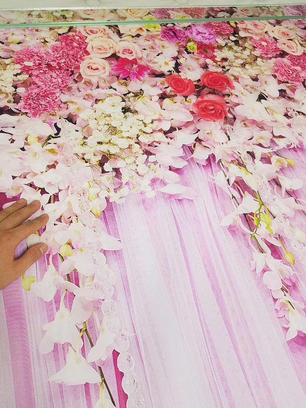 Cherry Blossom Photography Backdrops for Wedding Pictures Bridal Shower Ladies Photo Background FD9779