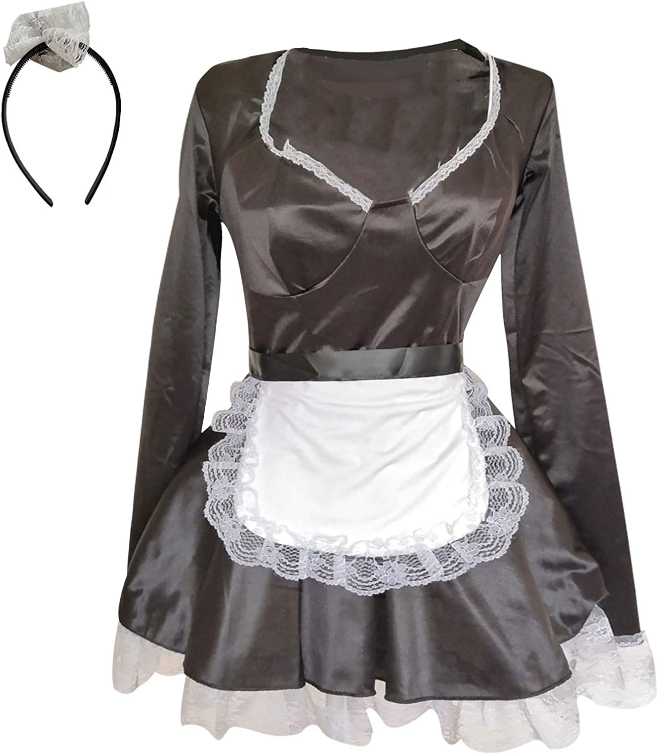 Ladies Erotic Lingerie Sexy Temptation Un Super beauty product Boston Mall restock quality top Cosplay Maid One-Piece