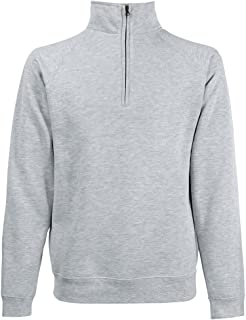 Fruit of the Loom Mens Premium 70/30 Halft Zip Neck Sweatshirt