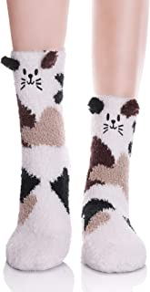 rainbow slipper socks