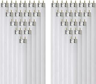 Sunlite F17T8/SP865/30PK T8 High Performance Medium Bi-Pin (G13) Base Straight Tube Light Bulb (30 Pack), 17W/6500K,...