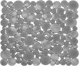 iDesign Spülbeckeneinlage, regulär große Spülbeckenmatte aus Kunststoff, schützende..