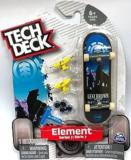 Tech Deck ELEMENT Series 7 Levi Brown Polar Bear Rare #20089463