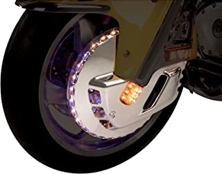 Show Chrome Accessories 52-624 Tri-Color LED Front Rotor Cover