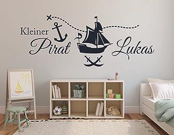 """Wunschname-Tattoo Kinderzimmer /""""Schatzinsel/"""""""
