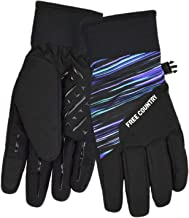 Free Country Girls' Outdoor Texting Glove Softshell Thinsulate for Cold Weather Ski
