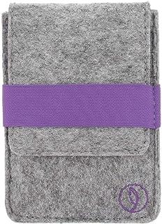 Leef Men's RFID Wallet, Purple