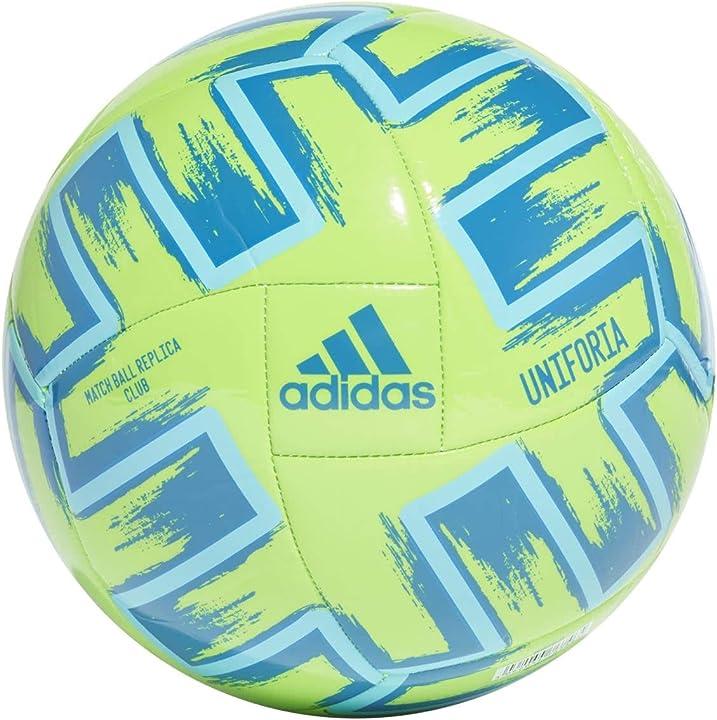 Pallone soccer - adidas unifo clb, pallone da calcio unisex adulto FP9705
