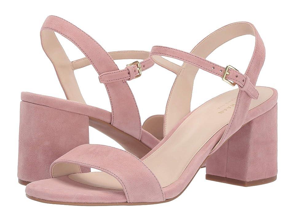 Cole Haan Josie Block Heel Sandal (Burlwood Suede) Women