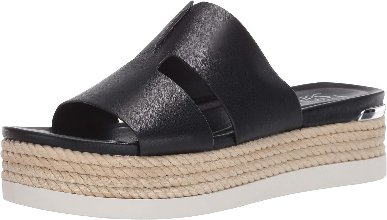 Franco Sarto Women's Memphis Mall Slip on half Sport Sandal