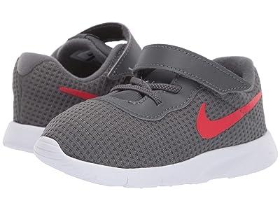 Nike Kids Tanjun (Infant/Toddler) (Dark Grey/University Red/White) Boys Shoes