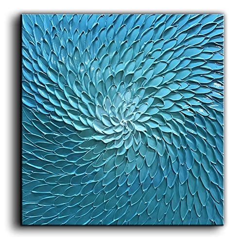 Grenen Hang En Legkast.Green And Blue Paintings Amazon Com